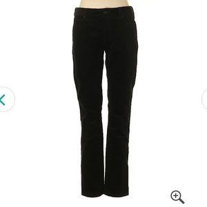 Banana Republic stretch corduroy black pants
